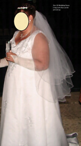 Size 26 wedding dress