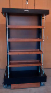 Movable Shelving Unit - Product Display