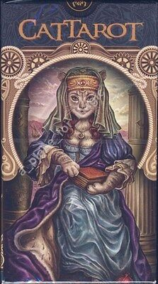 NEW Cat Tarot CatTarot Deck Cards Lo Scarabeo
