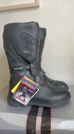 TCX EVO motorcycle boots 45 10.5