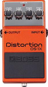 Pédale de distortion BOSS DS-1X