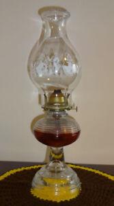 Antique Coal Lamp