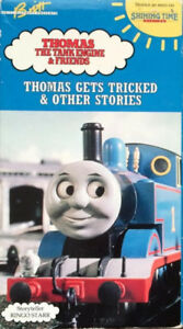 Thomas the Tank Engine and Friends VCR tapes