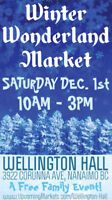 ❄️Winter Wonderland Market- Dec 1st, 10am-3pm - Wellington Hall