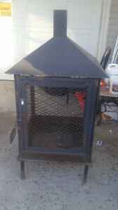 Heavy duty outdoor fireplace for sale