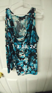 Woman Plus Size 1x-3x Tops and Skirt