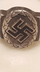 Bague allemand ww2 silver militaria militaire military