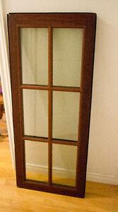 Mahogany Window Sashes
