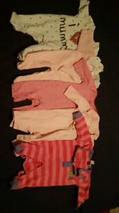 0 - 3 Month Girl Clothes