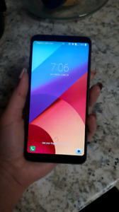 Lg g6 phone with defender case $250 fido