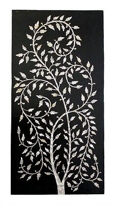 Wall Panel Hanging Wood Home Decor Art Tree Of Life Vintage Collectible India