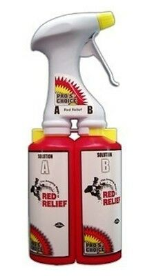 Carpet Cleaning Red Relief With Dual Chamber Sprayer