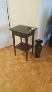 Ikea night stand ,lamp dresser ,  coffee table, painting, vases