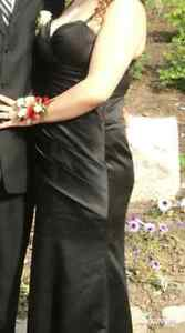 Black prom / bridesmaid  dress