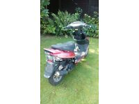 Bassa 50 moped scooter project spares or repair low miles
