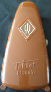 Vintage Wittner Taktell Piccolo Metronome Made in Germany