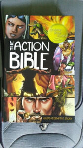 The Action Bible Hardcover Brand New