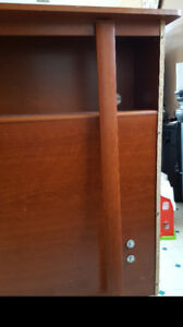 Queen size Headboard with bookcase for free
