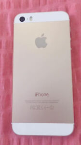 Unlocked 64GB iPhone 5s- Gold