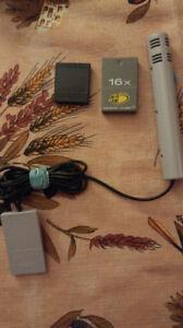 Micro pour gamecube et memory card à vendre