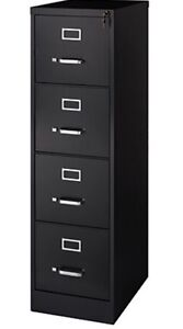 STEEL FOUR DRAWER FILING CABINET