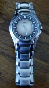 Men's Root Watch, Stainless Steel Band