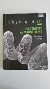Physique XXI Électricité et magnétisme Tome B - Marc Séguin