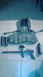 Paintball tippman 98 avec veste