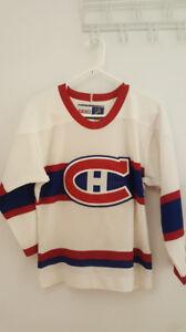 Jersey blanc CCM du CH pour enfant + T-Shirt Pk Subban