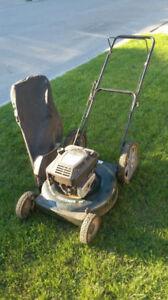 Craftsman 6.0HP Lawnmower w/ Big Rear Wheels