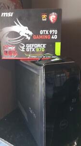 ORDINATEUR GAMER INTEL i7 + GTX 970 4GB + SSD + 1TB + JEUX + WFI