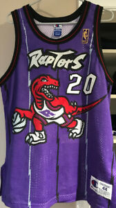 Authentic Damon Stoudamire Vintage Raptors Jersey Size 44 L