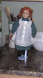 ANNE OF GREEN GABLES DOLL WITH STAND
