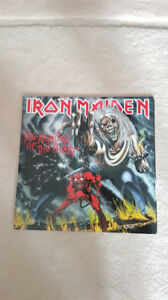 IRON MAIDEN THE NUMBER OF THE BEAST VINYL ! BRAND NEW !