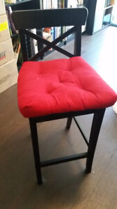 Ikea Ingolf bar height chairs (2 available)