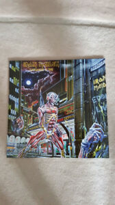 IRON MAIDEN SOMEWHERE IN TIME VINYL ! BRAND NEW ! 2014 PRESSING