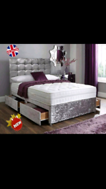 CLEARANCE +FREE DELIVERY DIVAN BEDS