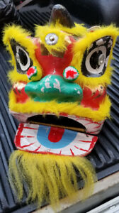 Chinese New Year Lion Dance Head $ 50