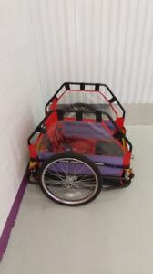 Remorque vélo pour enfants
