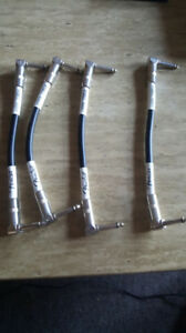 "Fender FG6LL 6"" Patch Cable x4"