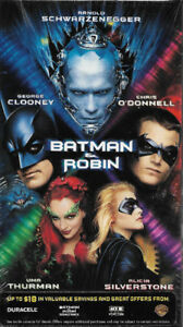 Batman & Robin 1997 Movie Brand New, Never Opened VHS