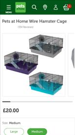 Hamster cage medium