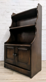 Ercol Waterfall Bookcase (DELIVERY AVAILABLE)