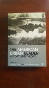 The American Urban Reader History and Theory