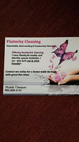 Don't feel like cleaning? I can help !