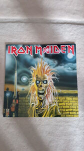 IRON MAIDEN SELF TITLED VINYL ! BRAND NEW ! 2014 PRESSING !