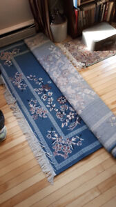 5 x 7 blue rug for sale