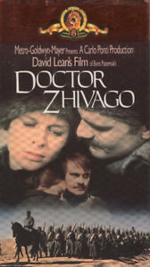 Doctor Zhivago Brand New and Sealed Package VHS