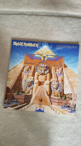 IRON MAIDEN POWERSLAVE VINYL ! BRAND NEW ! 2014 PRESSINGS !