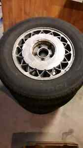 Tires and rims. 205-70-R15 *new price* Kitchener / Waterloo Kitchener Area image 1